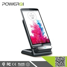 Qi Wireless Charger Charging Pad Charging Desktop Dock Stand Charger 3 Coils for Nexus4 Nexus5 HTC 8X android phone
