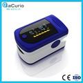 Alta calidad aCurio marca Color OLED movimiento de alarma pantalla Digital contador de pulso, SpO2 punta del dedo oxímetro