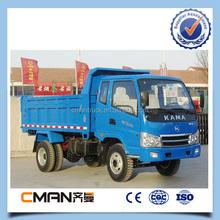 China KAMA brand 6 wheel light duty mini 8 ton dump truck off-road vehicle