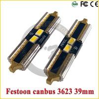 39mm 3623 Led c5w Festoon led for car