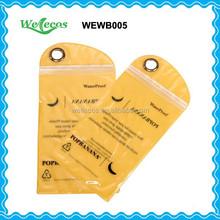 Cheap PVC Waterproof Zip Lock Bag for Mobile Phone