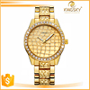 China factory wholesale golden face luxury watch