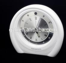 night vision motion detecting table clock P2P wifi camera hidden cam