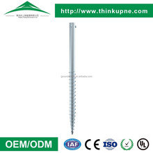 China supplier good quality slivery white earth anchors
