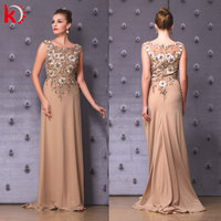 Direct Supply from Factory Round Neck Beaded Embroidery Tailing Free Patterns for Prom Dress Patterns