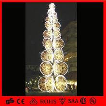 Super bright e27 bulb christmas tree led outdoor
