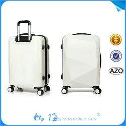 2014 Hot sell style ABS cheap luggage bags,polo trolley luggage,president luggage
