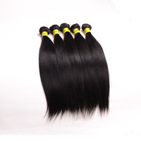 24 inch straight 3pcs/lot supply 6a cheap 100% indian hair remy indian hair