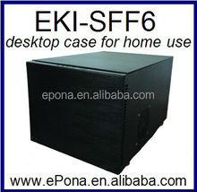 6-Bay Desktop NAS case for home use mini desktop case EKI-SFF6