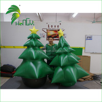 Custom made inflatable Christmas tree indoor