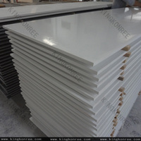 KKR Factory price solid surface marble look acrylic panels for aquarium