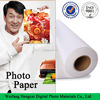 Factory Sell Directly 115gsm~260gsm Anti-curling Premium Satin Photo Paper
