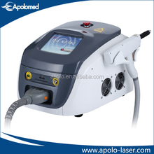 freindly use 1064 nm 532nm nd yag laser for tattoo wound removal