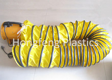 pvc ventilation air duct hose for heating, cooling, ventilating or exhaust