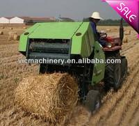 2015 new DK650-P hay and straw baler, small pasture bundling machine, mini bale press machine bander