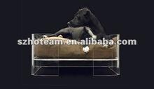acrylic pets bed