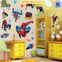 Super Hero Spider-Man Kids Room Decorative Wall Stickers