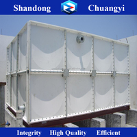 Chuangyi Fiberglass Sectional Water Tank for Irrigation water/Friefighting water/Drinking Water Treatment