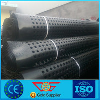 plastic roof garden drainage board,HDPE dimple membrane