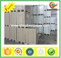 White uncoated Woodfree offset paper 350g 100% whiteness