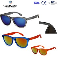 Interchangeable legs custom logo wayfarer sunglasses