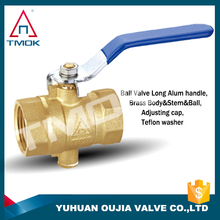 ppr brass ball valves double union mini PTFE CE approved full port with forged motorize plating cock valve lockable in delhi PN