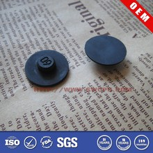 Custom made durable protective flat round rubber heel tip