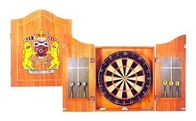 Professional Dartboard with Deluxe Cabinet and Darts