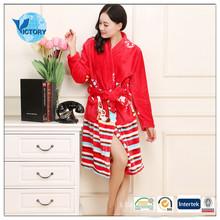 popular Coral Fleece Bathrobes made in China