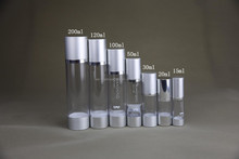 200ml airless aluminium bottle