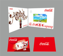 "4.3"" Video greeting Gift Card, LCD video card, LCD gift card"
