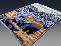Yiwu Elephant blanket 100%polyester