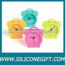 Mini Retro Silicone Alarm Clock, Assorted colors