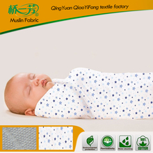 Soft best high quality assuerance excellent comportable baby swaddle blanket