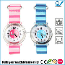 CE,RoHs,SGS,Sedex Test Report In stock velcro watch strap japan quartz movement early education watch toys kid watch