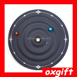 OXGIFT Galaxy Magnetic Clock wall clock, creative home decoration table clock OX-DWZ157