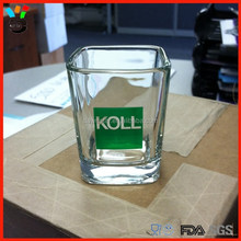 The Best Marketing Item Personal Printed Square Shot Glass For Promotion