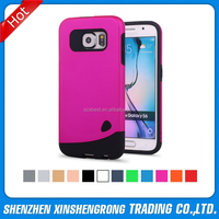 For Samsung Galaxy S6 Hybrid Phone Case, PC TPU Combo Hybrid Slim Fit Neo Color Case for Samsung S6 G9200