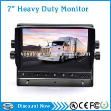Bus Monitor 24V 7 Inch HD TFT LCD screen headrest dashboard Monitor stand-alone