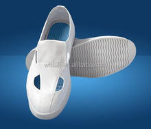 Pu surface and PU Sole esd shoes for electronic factory