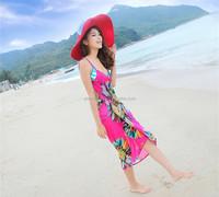 Sun flower Bikini beach towel Sexy and fashion Sling Dress