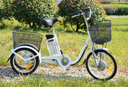 three wheels moped electric tricycles chopper