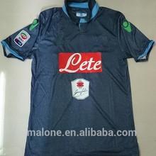 venta al por mayor de china de milán napoli camisetas de fútbol original de bajo precio 2015 uniforme