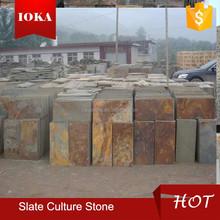 rusty slate culture stone tile