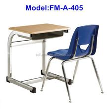 No.FM-A-405 Modern design school desk and chair