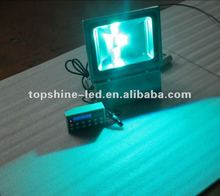 dmx ip65 rgb led spot light 90W used for outdoor swimming pools and public squares