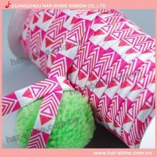 5/8inch FOE Aztec foldover elastic ribbon