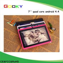 Factory bulk wholesale 4gb / 8gb boxchip 7'' a33 tablet