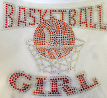 Bling Transfers Basketball MOM Heat Press Transfers for Tshirts