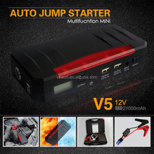 New Arrival Jump Starter 12000mAh/13600mah/30000mah Car Emergency Mini Jump Starter Manufacturer for Laptop Auto Mobiles